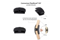 Connecteur Playwood 150°