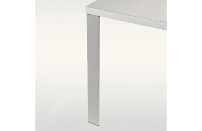 Pied de table ou bureau triangulaire aluminium