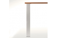 Pied de table carré 80 X 80  mm
