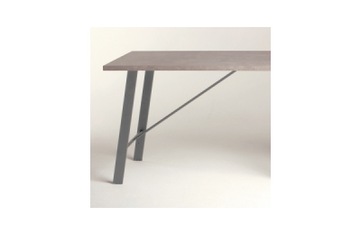 Pied incliné pour table ou ilot