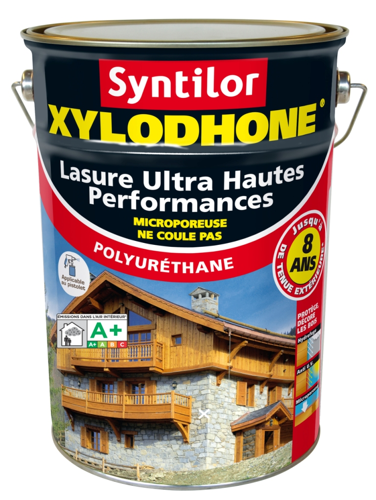 lasure xylodhone syntilor 8 ans 1litre la boutique du bois lasures vente finition. Black Bedroom Furniture Sets. Home Design Ideas