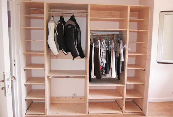 Comment faire son propre dressing - Faire dressing sur mesure ...